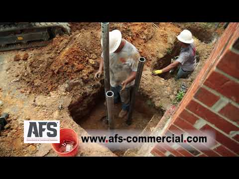 Repairing Foundation Damage at Thorsby High School |  AFS Geotechnical & Commercial Solutions