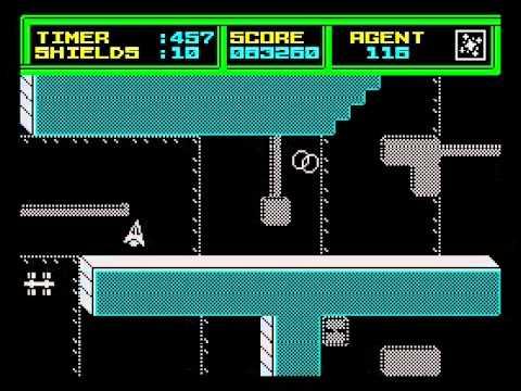 Thrust II Walkthrough, ZX Spectrum