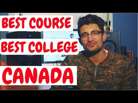 Best College Best Course in Canada