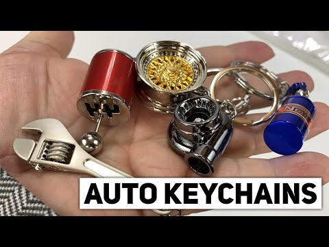 Cool Car Themed Accessories Keychains By ISpeedyTech Review