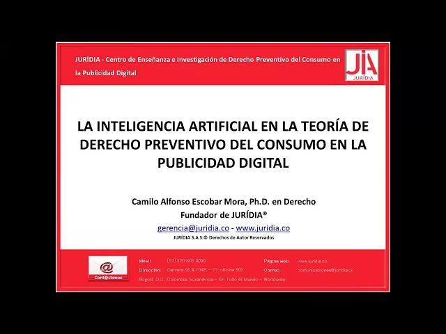 Lección 9 del Curso JURÍDIA ©. - La inteligencia artificial en la teoría