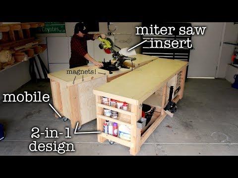 Super Simple Mobile & Modular Workbench