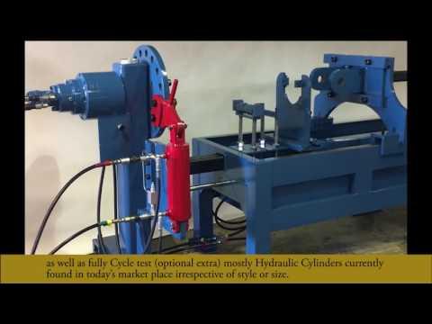 HEMS Hydraulic Cylinder Repair Bench