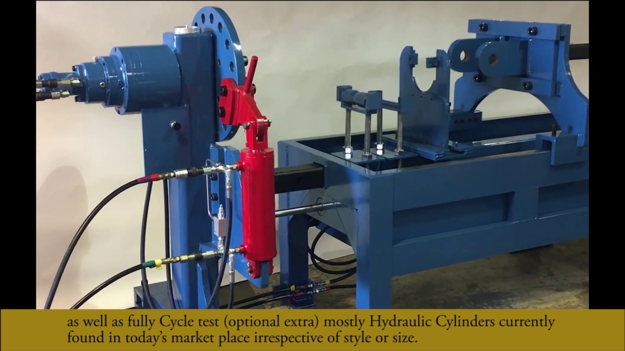 Hems Hydraulic Cylinder Repair Bench Youtube