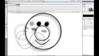 Animating a Head Turning - Adobe Flash CS3