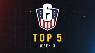 Rainbow Six: US Nationals – Top 5 | Week 3 | Ubisoft [NA]
