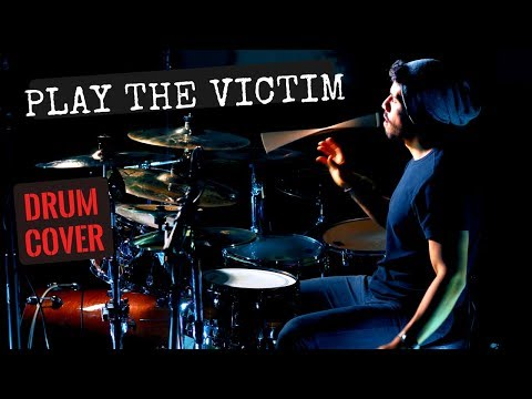 Nico Ortiz - The Word Alive -  Play The Victim DRUM COVER 4K