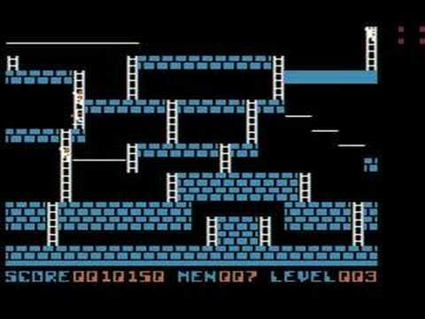 Lode Runner on the Apple II (Levels 1-5)