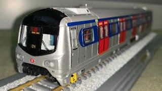1:87 東鐵綫中期翻新列車模型 開箱及介紹 (MTR Passenger Train ERL MLR)