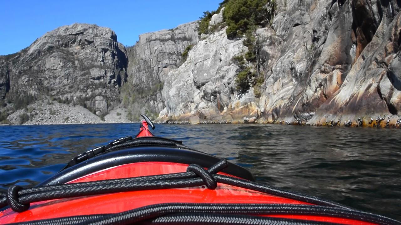 Kayaking in the Lysefjord
