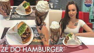 Burger gigante do Zé do Hamburger- Segredinhos #Vlog