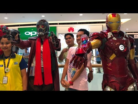 Cosplay Craze SM Seaside 2018 Killerbody Iron Man Suit Cebu Philippines