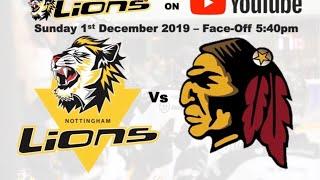 Nottingham Lions v Whitley Warriors LIVE