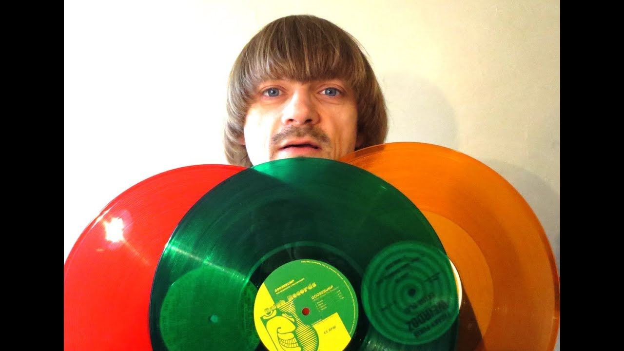 Colored Vinyl Record Collection Weird Paul My Record