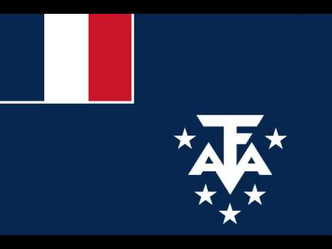 French Southern and Antarctic Lands Flag