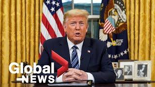 Coronavirus outbreak: Donald Trump suspends travel from Europe to U.S. starting Friday