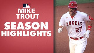 Mike Trout 2020 Highlights (Angels star continues to be one of MLB's best!)
