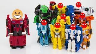Сборник мультиков - робот Сайдсвайп шутит над Трансформерами. Часть 1