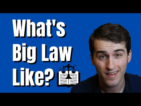 What is Big Law Like?