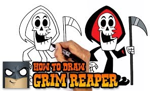 How to Draw Grim Reaper| Grim Adventures of Billy and Mandy (Art Tutorial)