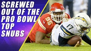 PRO BOWL SNUBS: Top NFL Players Shafted!