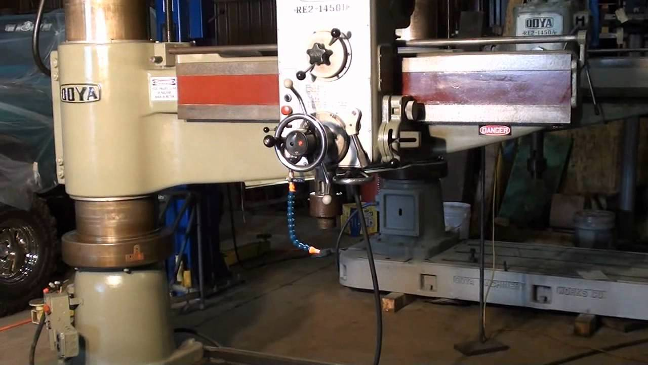 ooya radial arm drill press 5 x 13 3 8 youtube rh youtube com Delta Radial Drill Press Heavy Duty Floor Drill Press