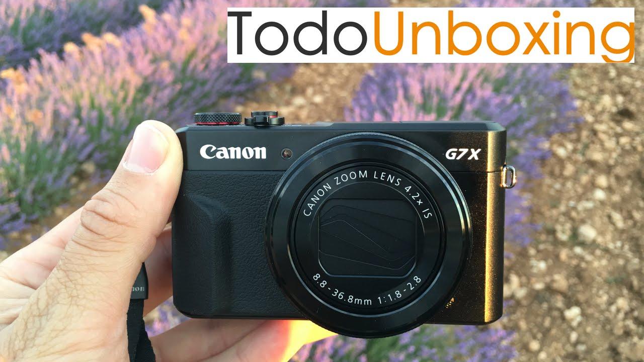 Análisis Canon G7X Mark II - Mejor cámara compacta 2016 - YouTube