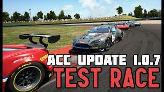 Assetto Corsa Competizione Update 1.0.7 Test Race