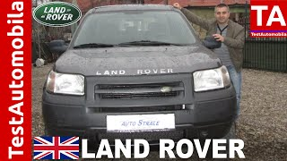 LAND ROVER Freelander 2.0 TD TEST - 2003