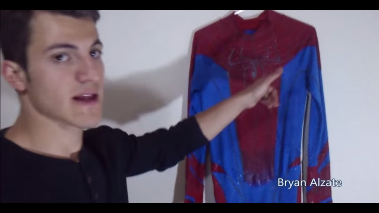 Como hacer el traje de the amazing spiderman - YouTube 11a155b83ec9