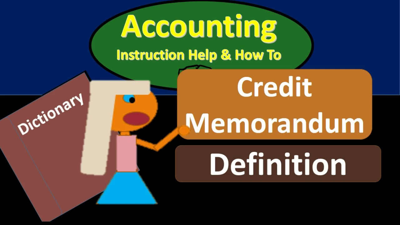 what is credit memorandum
