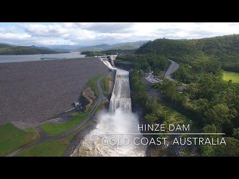 Our World by Drone in 4K - Hinze Dam, Gold Coast, Australia