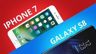 Samsung Galaxy S8 vs iPhone 7 [Comparativo]