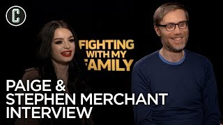 Paige & Stephen Merchant Fighting With My Family Interview