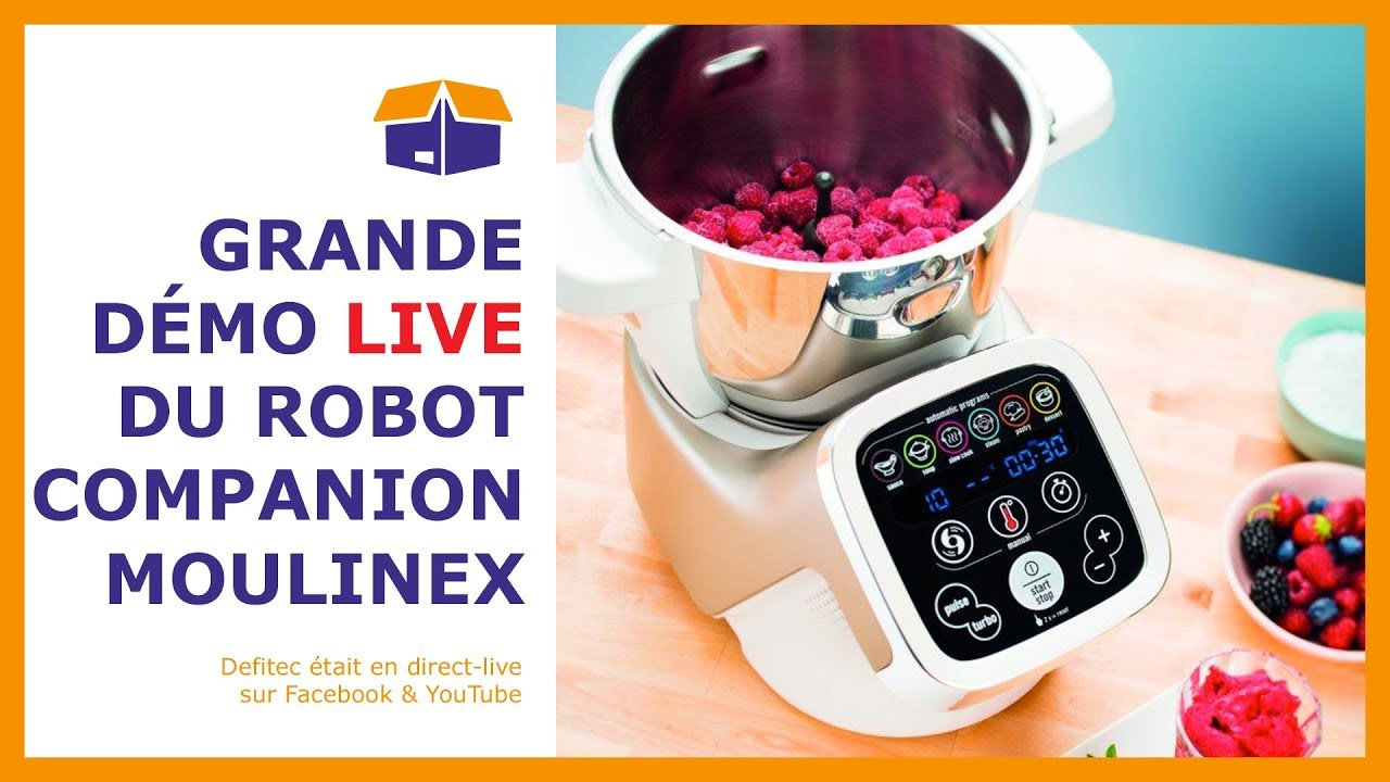 d couvrez le robot de cuisine companion de moulinex youtube. Black Bedroom Furniture Sets. Home Design Ideas