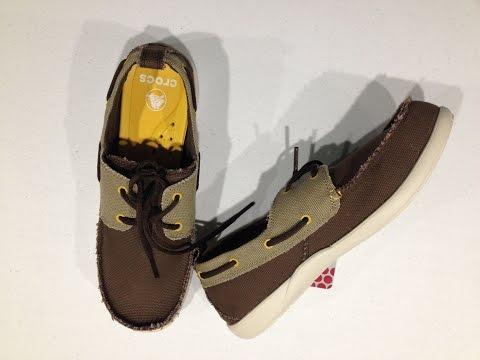 Crocs Men's Walu Deck CV Loafer Unboxing