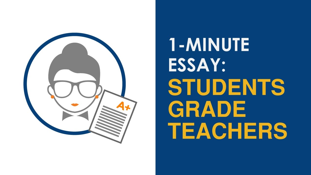 Apa Format Sample Essay Paper Minute Essay Prompt Should Students Be Able To Grade Their Teachers Genetically Modified Food Essay Thesis also Thesis Statement Argumentative Essay Minute Essay Prompt Should Students Be Able To Grade Their  1984 Essay Thesis