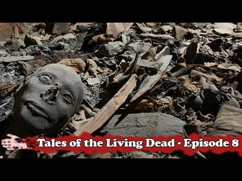 Tales of the Living Dead - Women and children buried in a tomb in Syria - mass murder