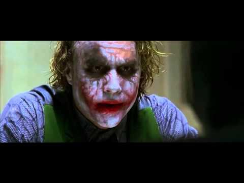 The Dark Knight : Interrogation Scene - 4k