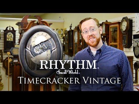 Timecracker Vintage Small World Rhythm Clock