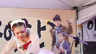 💗버드리💗 최연소 어린이의 팀과 세 미녀의 멋진공연 7월13일 원주 영랑 가요제 및 막걸리 축제 저녁공연 중반
