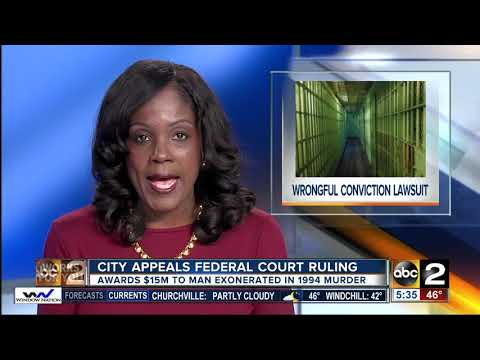 Wrongfully convicted Baltimore man awarded $15 million