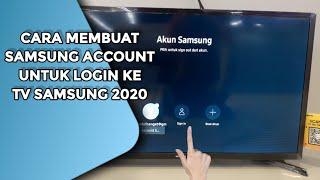 Cara Membuat Dan Login Akun Samsung Ke Smart Tv Samsung Youtube