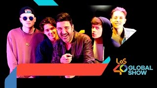 The Vamps en Los 40 Global Show
