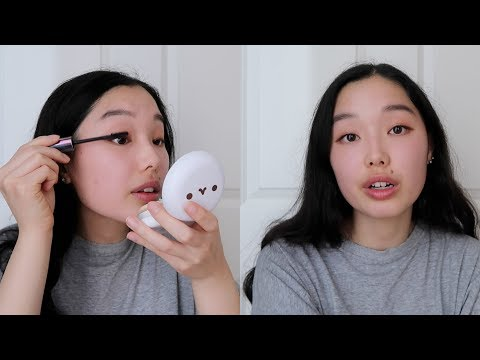 growing up korean american but it's also a grwm :')