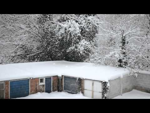 Snow In Burgess Hill in December 2010