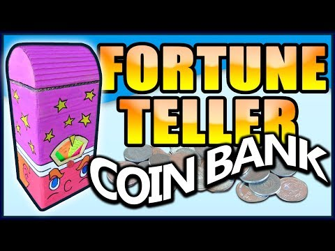 DIY Coin Bank that tells Fortune! EASY!