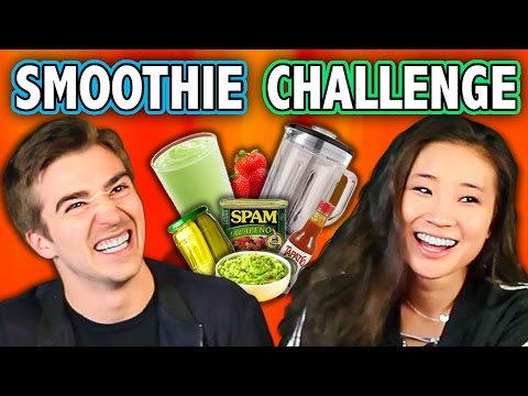 Thumbnail: GROSS SMOOTHIE CHALLENGE (ft. React Cast & FBE Staff) | Challenge Chalice