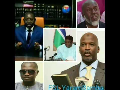 Gambia News With Sarjo Barrow 21/7/2017