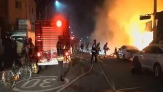 [사건사고] 서울 용산구 갈월동 재활용센터 화재